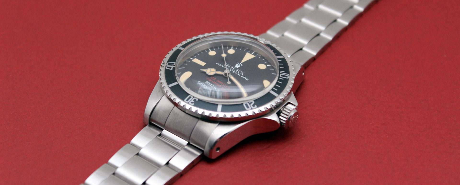 Rolex Sea Dweller Double Red 1665