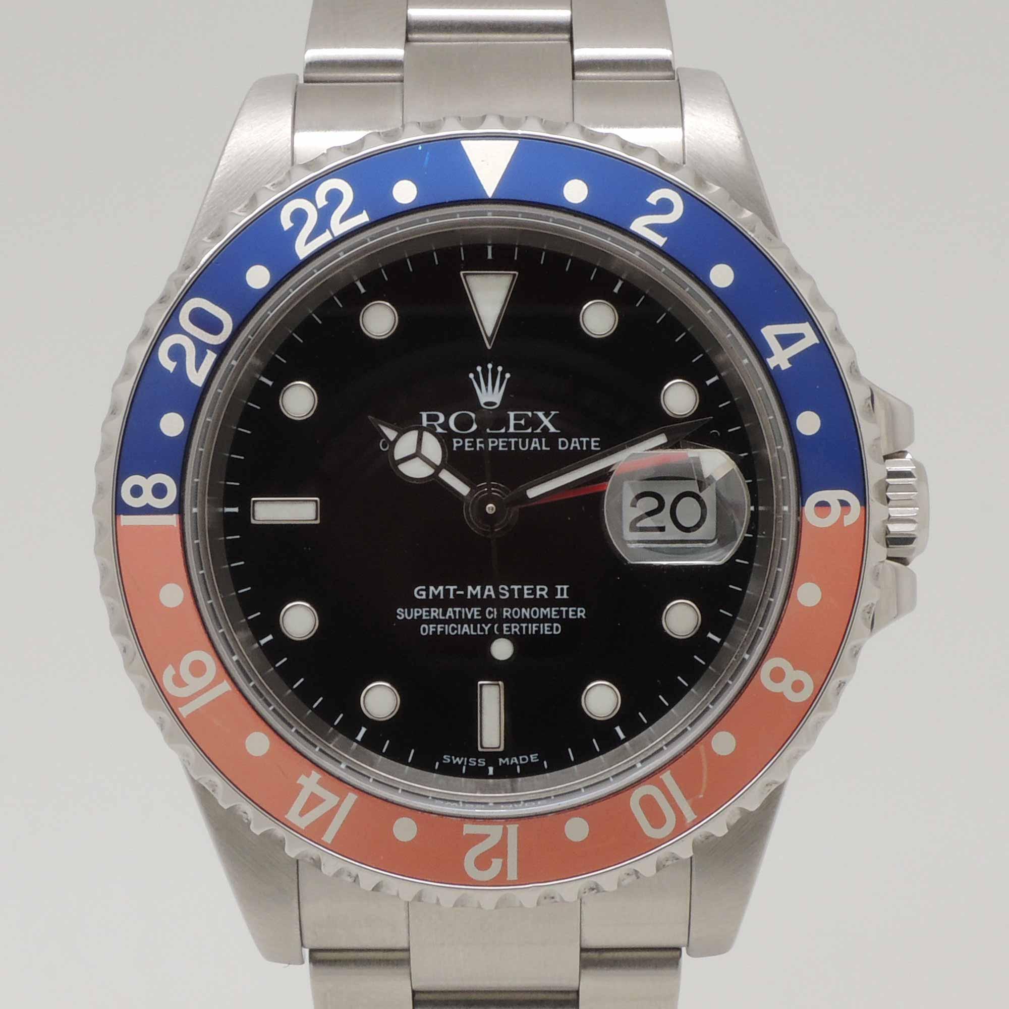 Reloj Master Segunda Rolex Gmt Mano POZkXiu