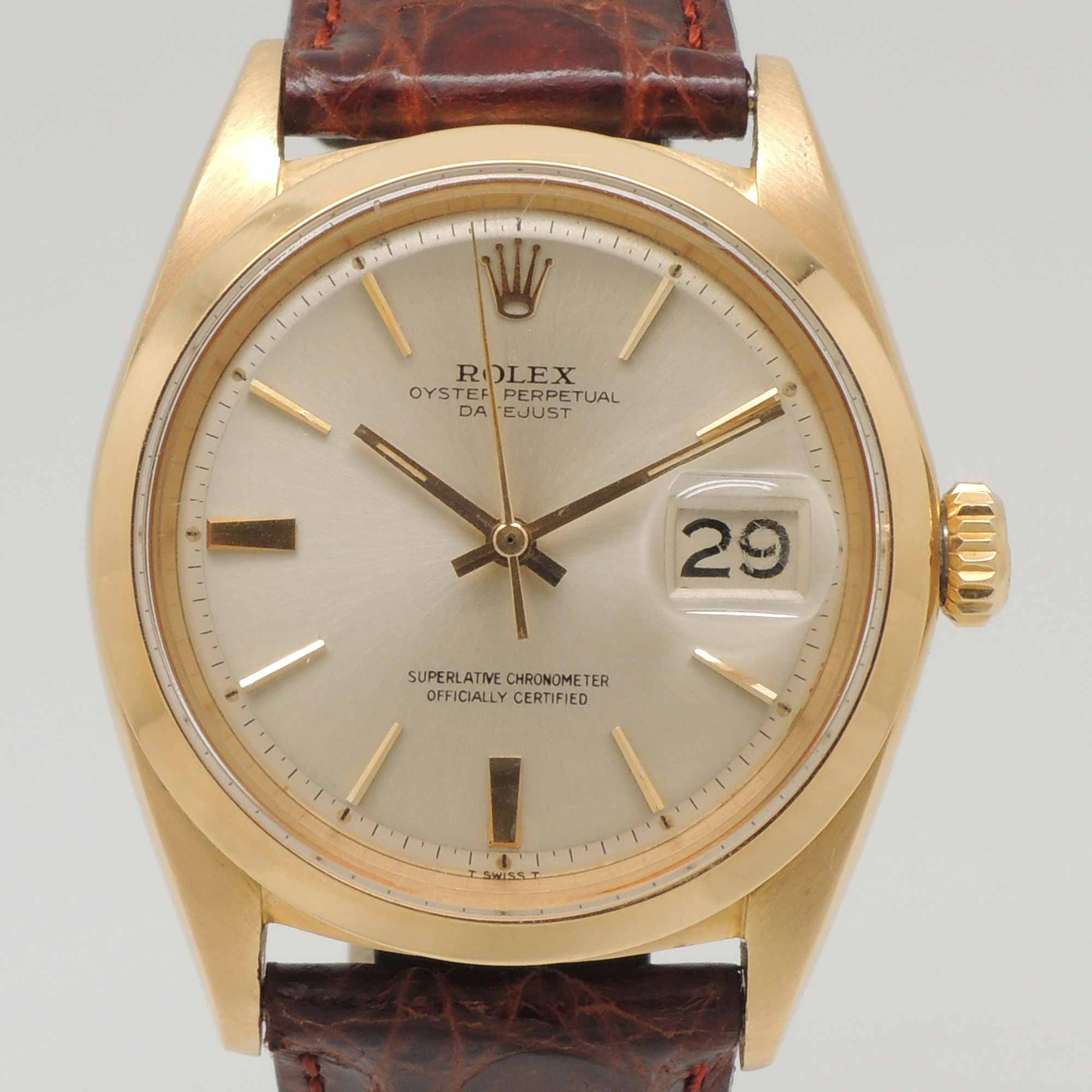Rolex Datejust 1600 | Buy and sell Rolex Barcelona